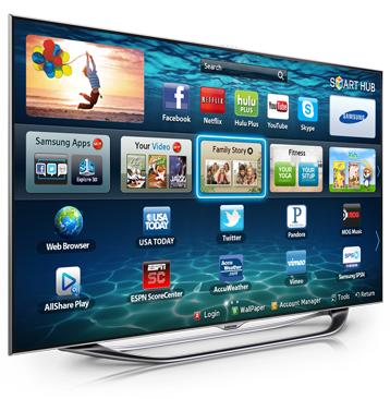 Samsung's gesture controls in the newest smart tv's are
