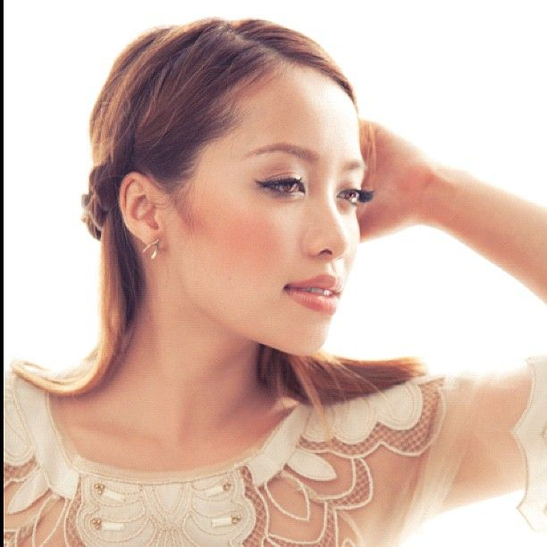 love the embellished top and makeup look. Michelle Phan