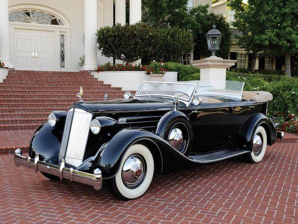 1935 trich Sport Phaeton Twelve Dual Cowl | 1930's cars ...