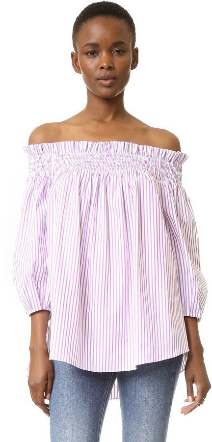 39+ Caroline constas lou off the shoulder dress ideas