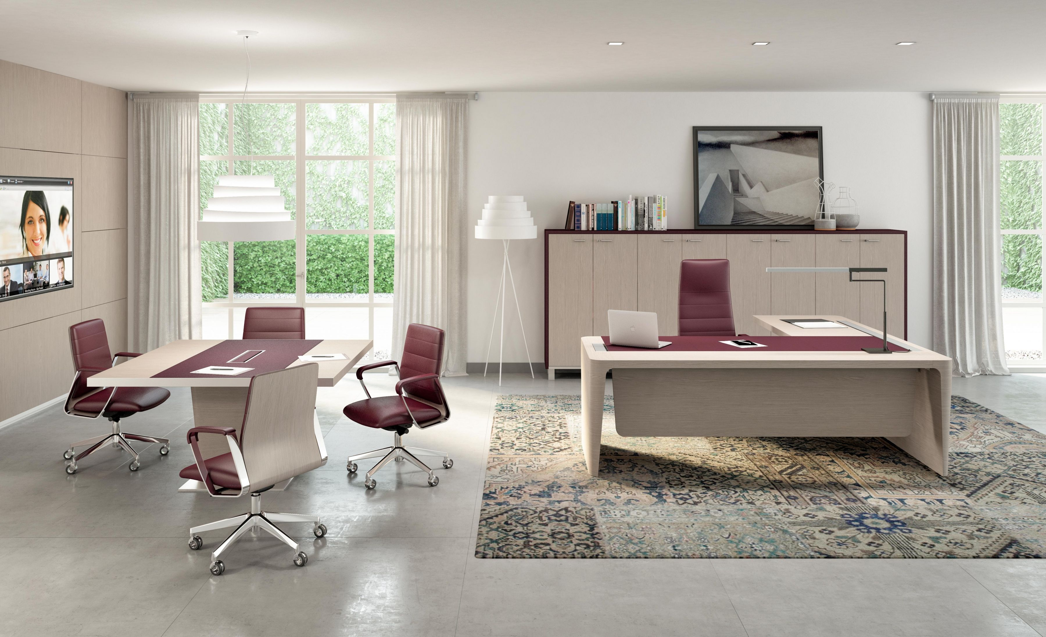 Relax At Work Behind The X10 Executive Office Desk With Images