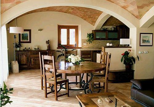 decoracion de interior de sala-comedor-covinja en rustico colonial ...