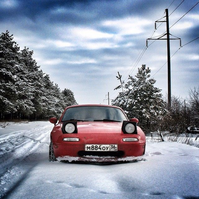 "topmiata: ""From Russia with ❤... and ❄ @silent83dim 