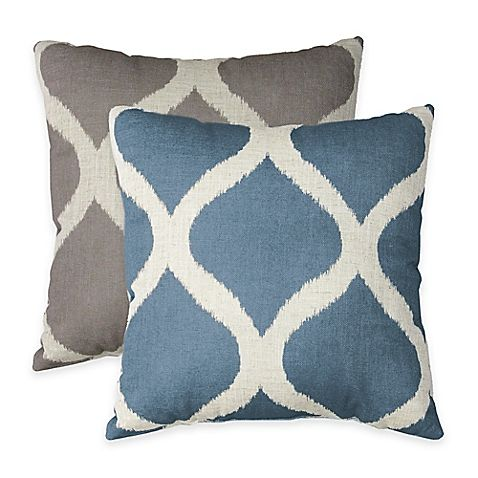 Luna Square Throw Pillow dorm Pinterest