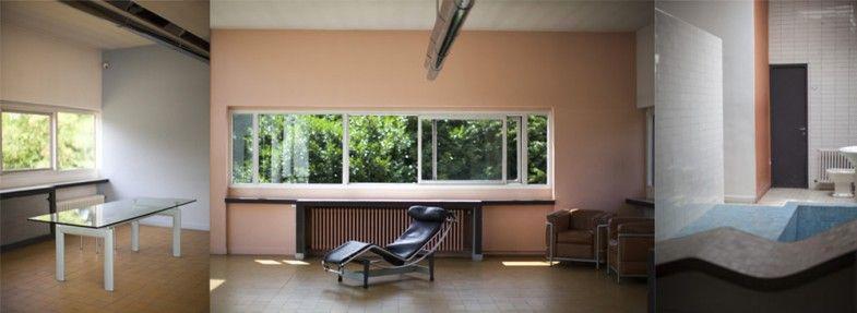 villa savoye interieur increible house villa home decor y corner desk. Black Bedroom Furniture Sets. Home Design Ideas