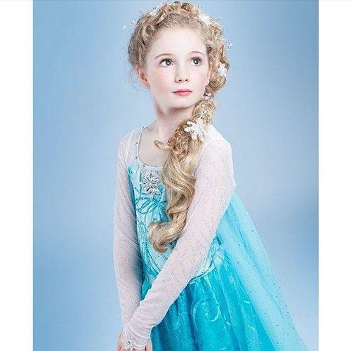 elsa frozen klänning
