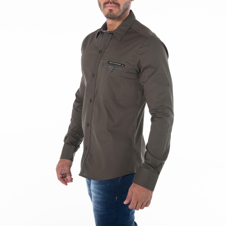 07b950cf2f Camisa manga larga de botones. La versatilidad de una camisa puede  ofrecerte muchas formas de
