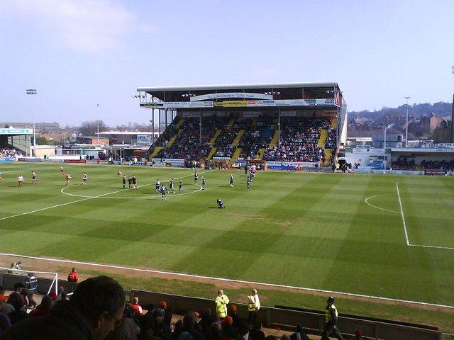Lincoln England Soccer Stadium British Football Football Field