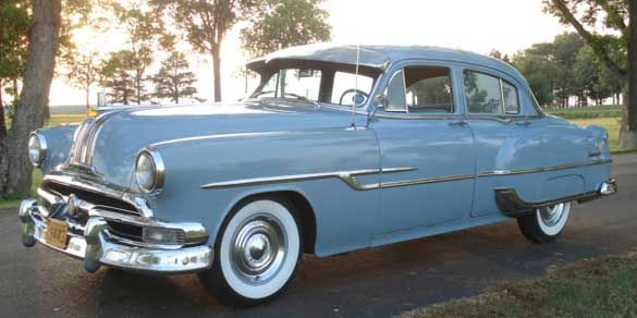 1953 pontiac chieftain four door sedan pontiac chieftan