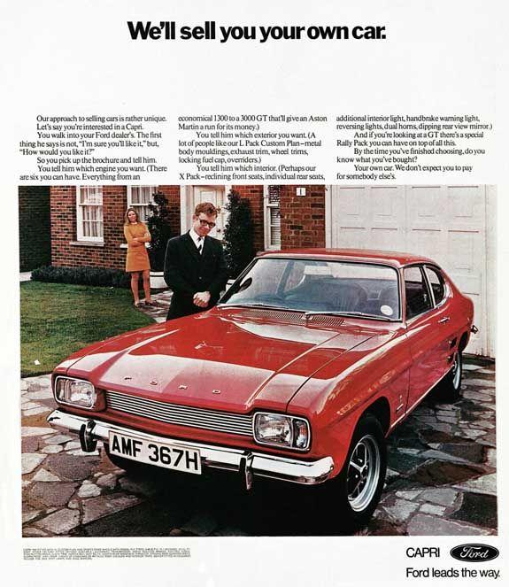 Ford Capri Mk1 Advert