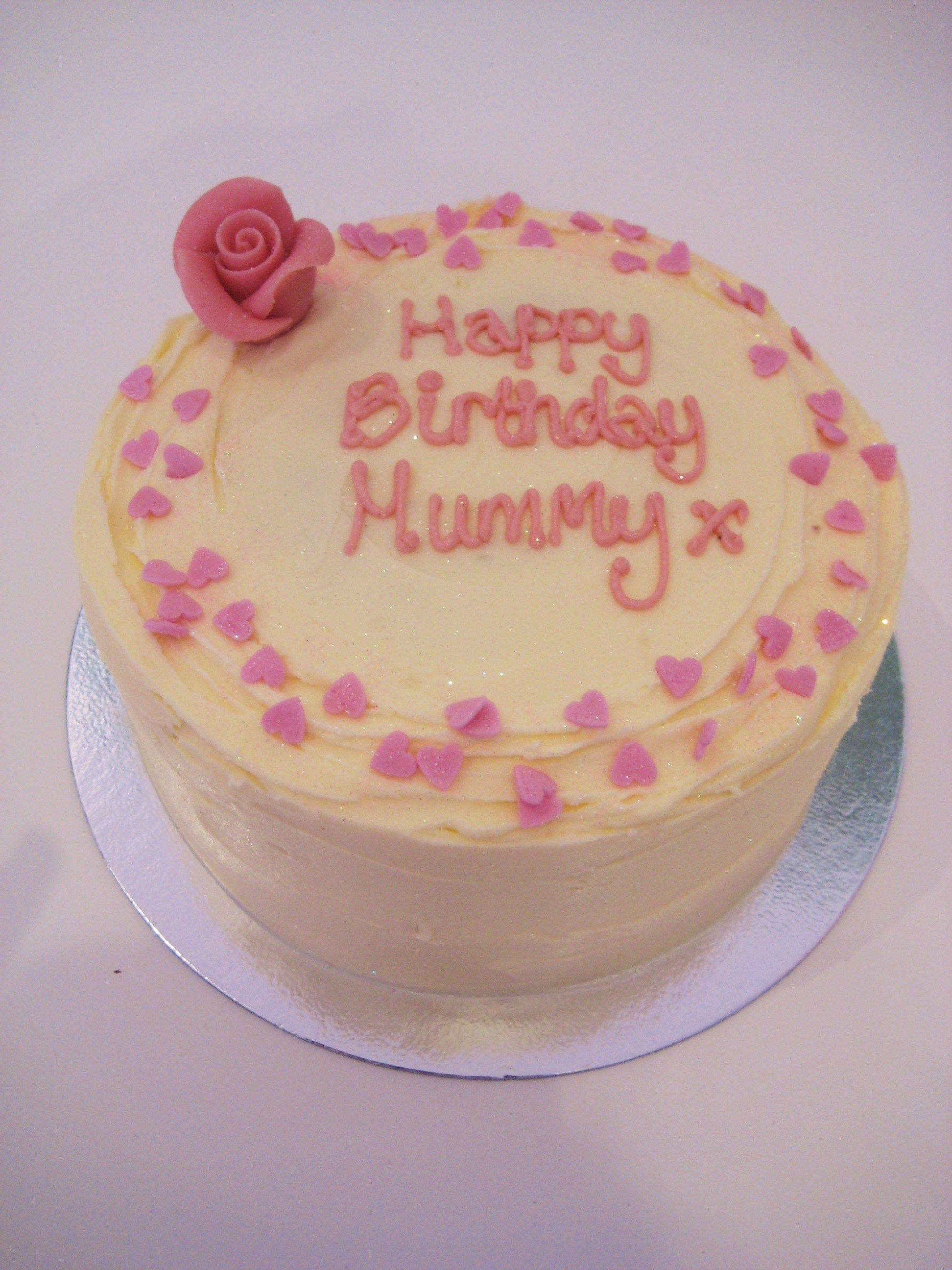 Traditional Birthday Cake 6 Inch Cakes Pinterest Brighton