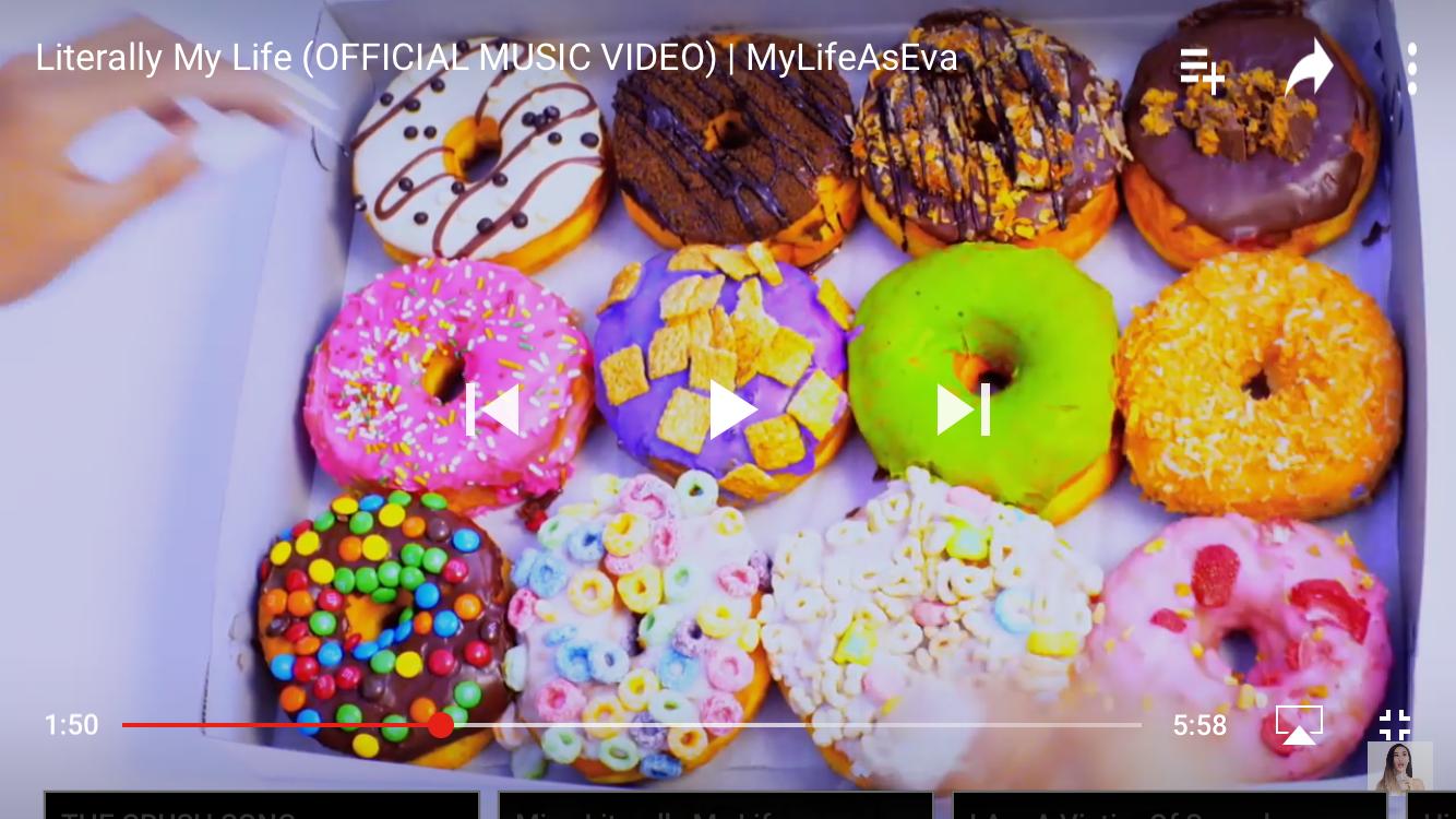 Make DIY donuts at ur bday