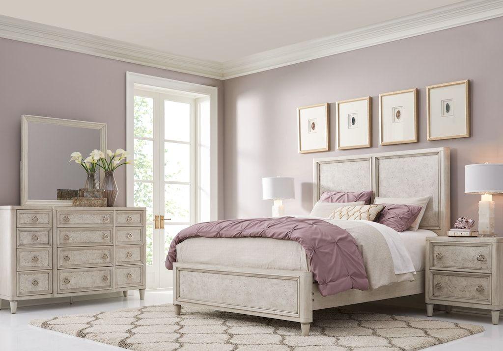 Bentley Hills Light Gray 5 Pc Queen Panel Bedroom | Dallas ...