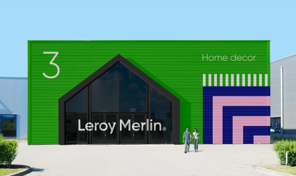 Rebrending Lerua Merlen Leroy Merlin Peopleofdesign Rebranding Brand Inspiration Board Property Branding