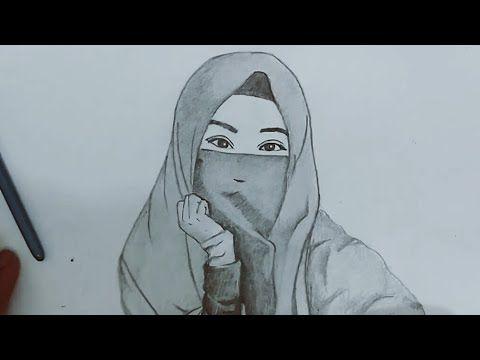 26 Gambar Sketsa Kartun Wanita Berhijab- Kumpulan gambar ...
