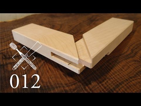 Joint Venture Ep 11 Tongue And Groove Shoulder Miter Joint Sumidome Hozo Sashi Japanese Joinery Youtube Woodworking Joints Japanese Joinery Wood Joining