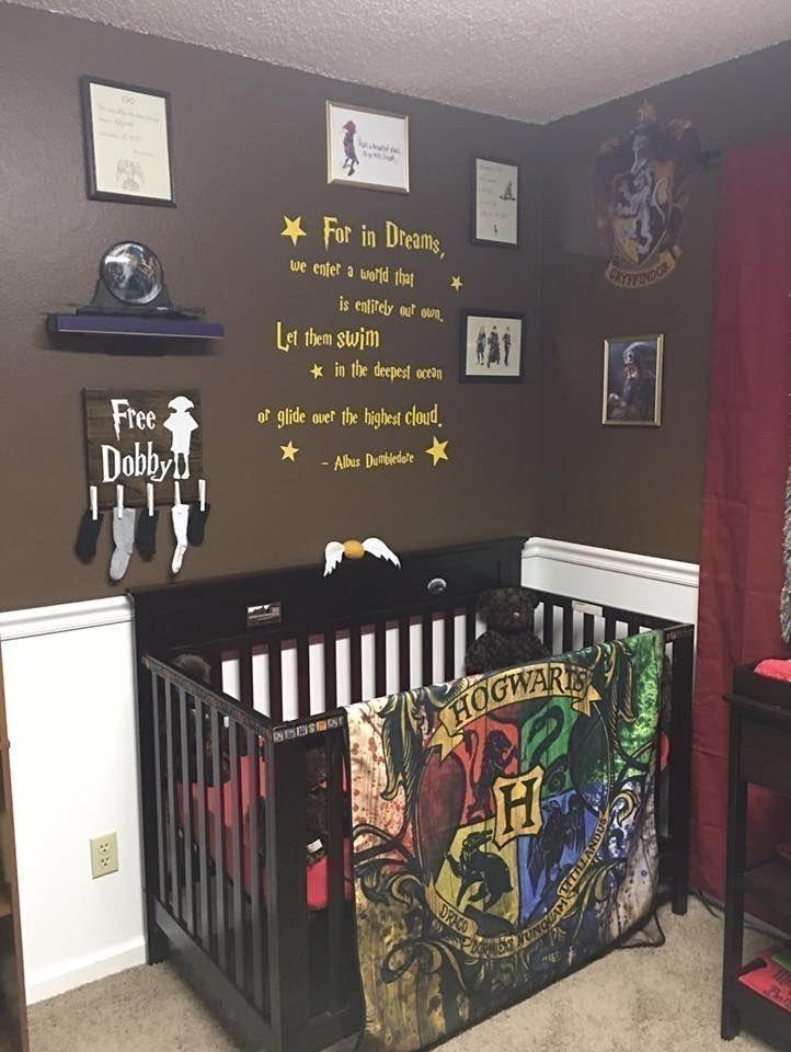 Este cuarto de beb al estilo harry potter es for Harry potter cuartos decoracion