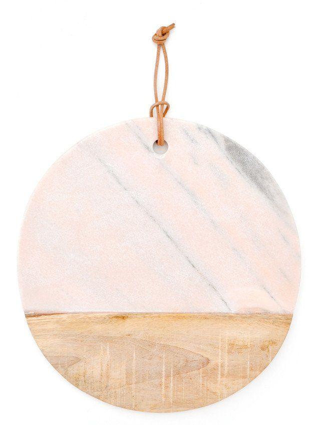 Pink Marble Serving Board | Geschenkideen und Weihnachten