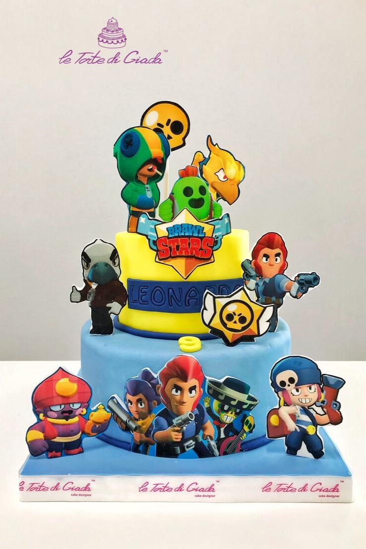Brawl Stars Cake Torte Di Compleanno Torte Decorare Torte