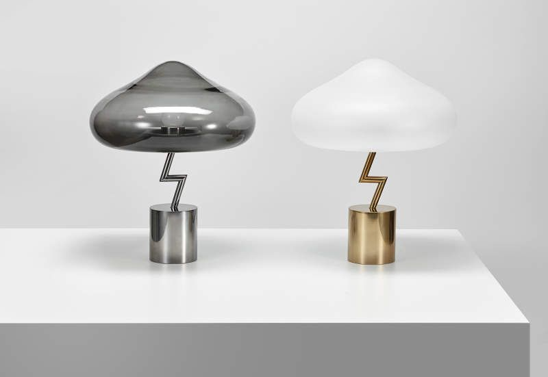 Jiyoun kim unveils lightning table lamp at london design festival