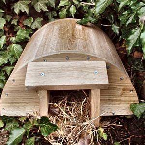 Do you see hedgehogs where you live? Help give them a home! #homesfornature
