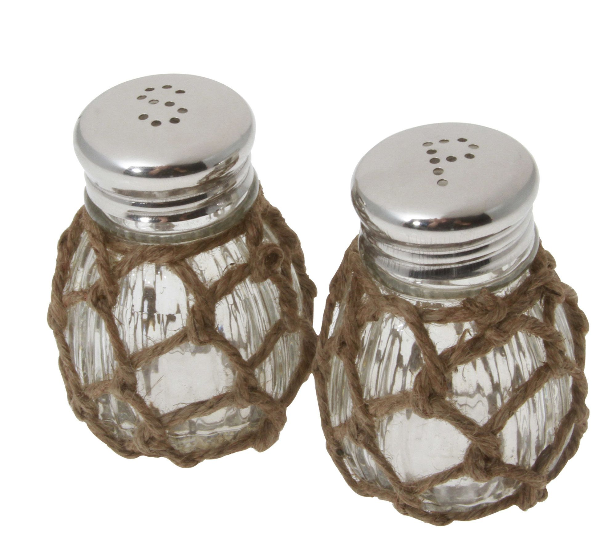 Colefax Nautical Rope Salt and Pepper Shaker Set SAC