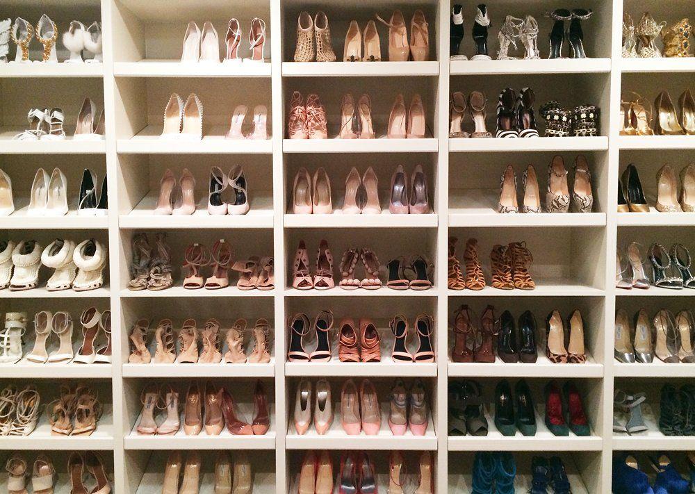 How To Organize Your Closet Like Kim Kardashian West
