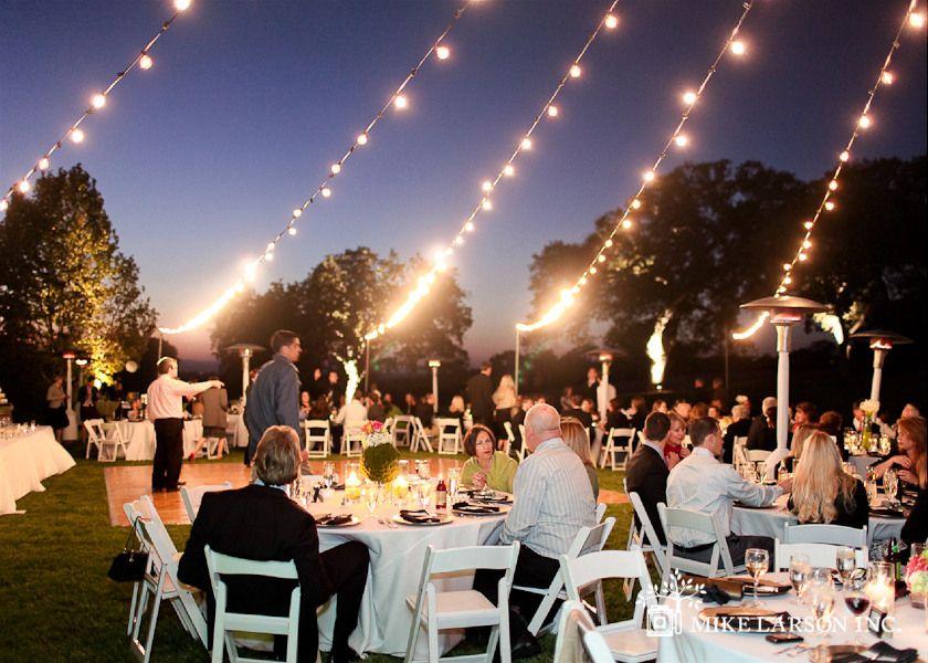 Outdoor Dance Floor Wedding Reception Layout