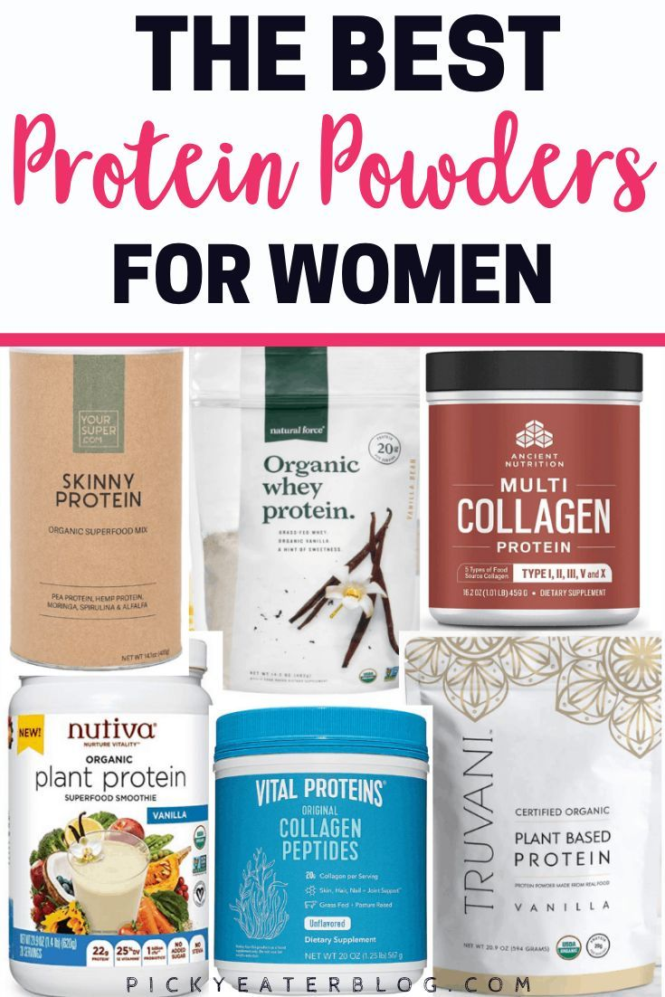 Best Protein Powders for Women (2019 Guide) - The Picky Eater