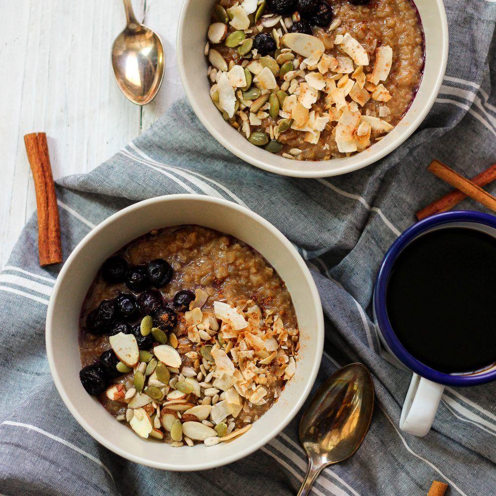 Cinnamon Crunch Grain-Free Oatmeal (Paleo)