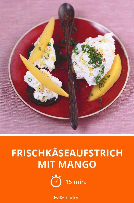 Frischkäseaufstrich mit Mango - smarter - Zeit: 15 Min.   eatsmarter.de