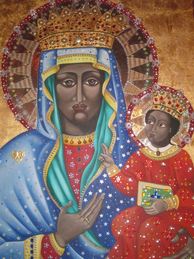 There are over 500 statues and paintings of a Black Virgin ...