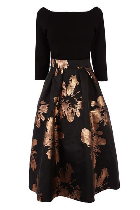 What To Wear A Winter Wedding Guests Black Dress Chwv