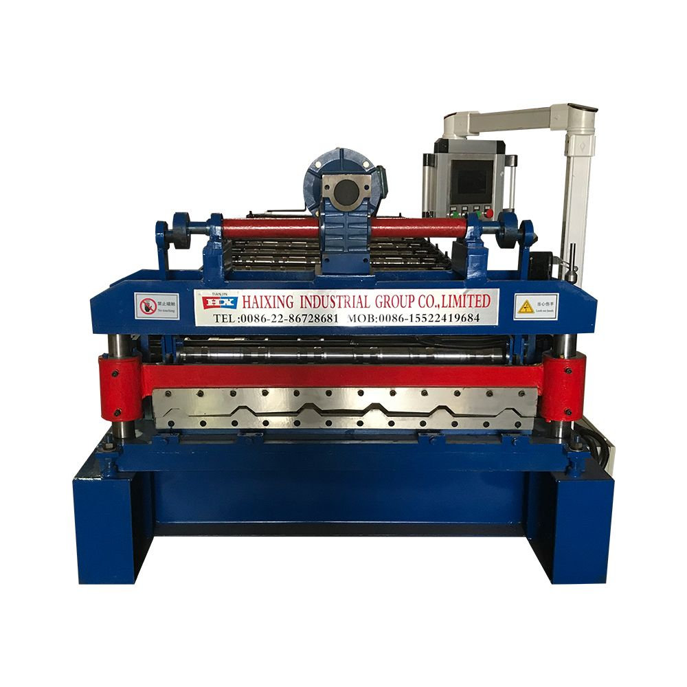 Best The Trapezoidal Color Steel Roof Roll Forming Machine 400 x 300