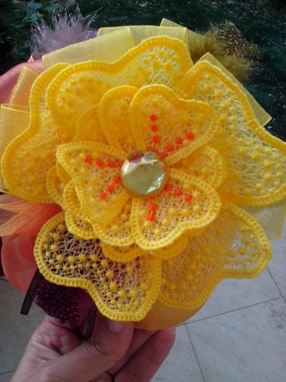 Stand Alone Lace Embroidery Designs : Fsl flower free standing lace by