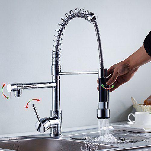 Auralum® Marco De Acero De Resorte Espiral Para El Profesional De - wasserhahn niederdruck küche