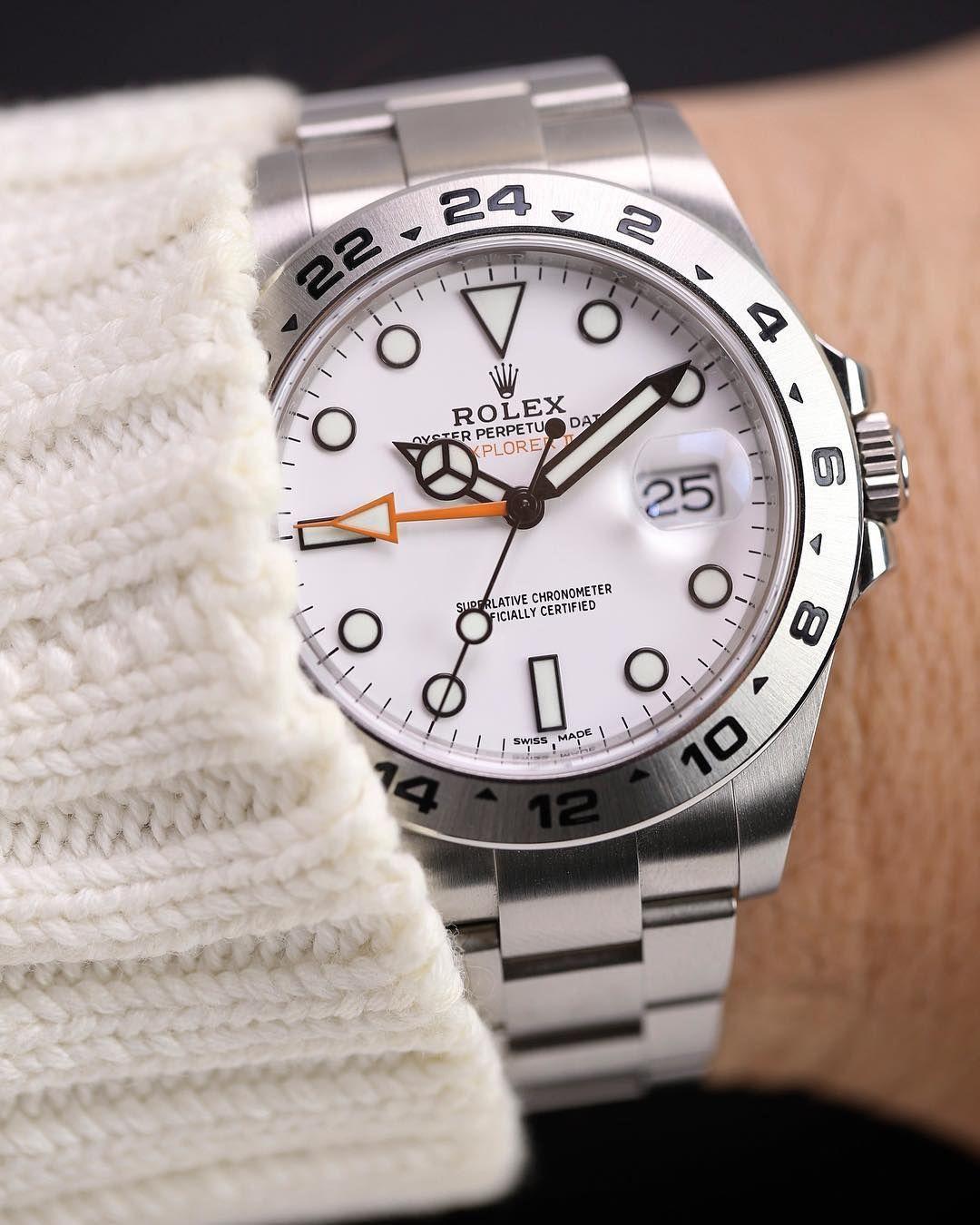 86c4d133a75 Rolex Explorer II 216570 Relógios Rolex