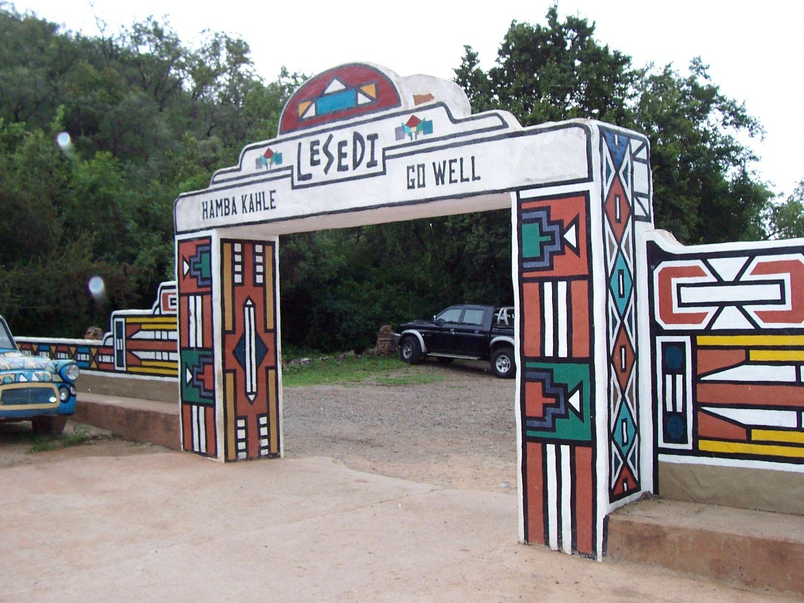 #travel Lesedi Cultural Village