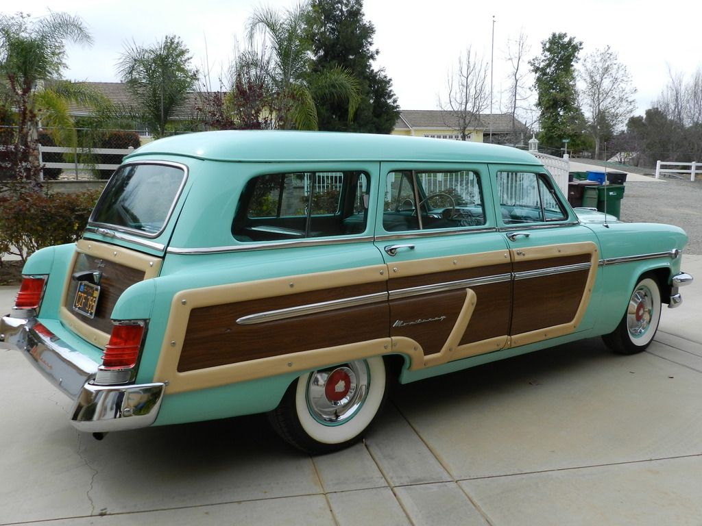 54 Mercury Monterey 8 Passenger Woody Wagon Woodies