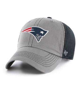 0d51620ddd728  47 Brand New England Patriots Super Bowl Liii Climb Clean Up Straoback Cap  - Black Adjustable.