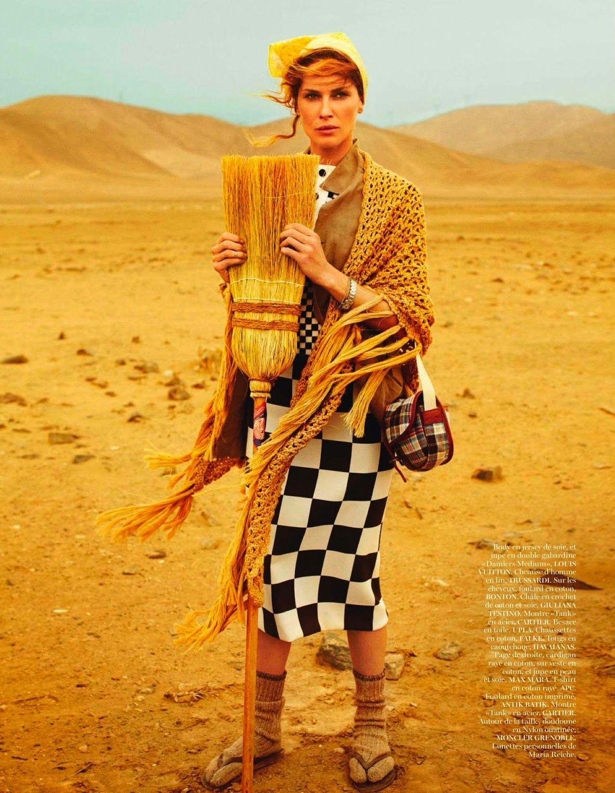 #ErinWasson by #MarioTestino for #VogueParis April 2013