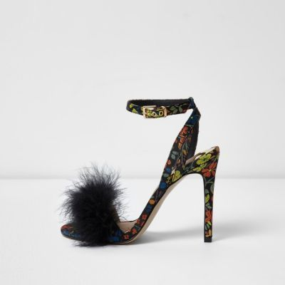 buy \u003e wide fit fluffy heels, Up to 76% OFF