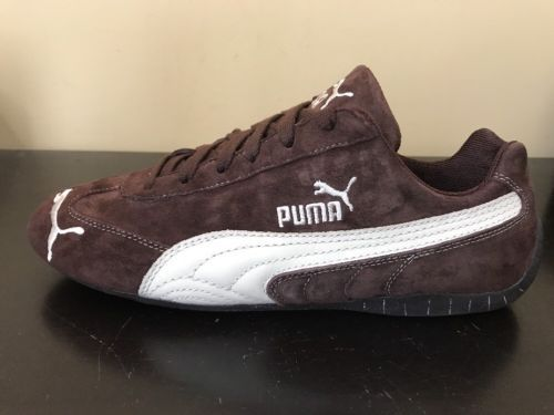 best sneakers bc747 3d4c7 Puma Speed Cat Sd 301953 25 Men's Laced Suede Trainers Brown ...