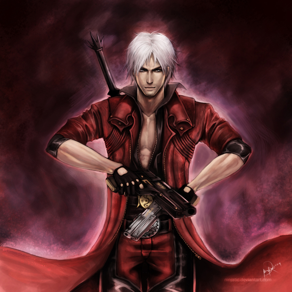 Dante from Devil may cry hot as usual http//vanishing