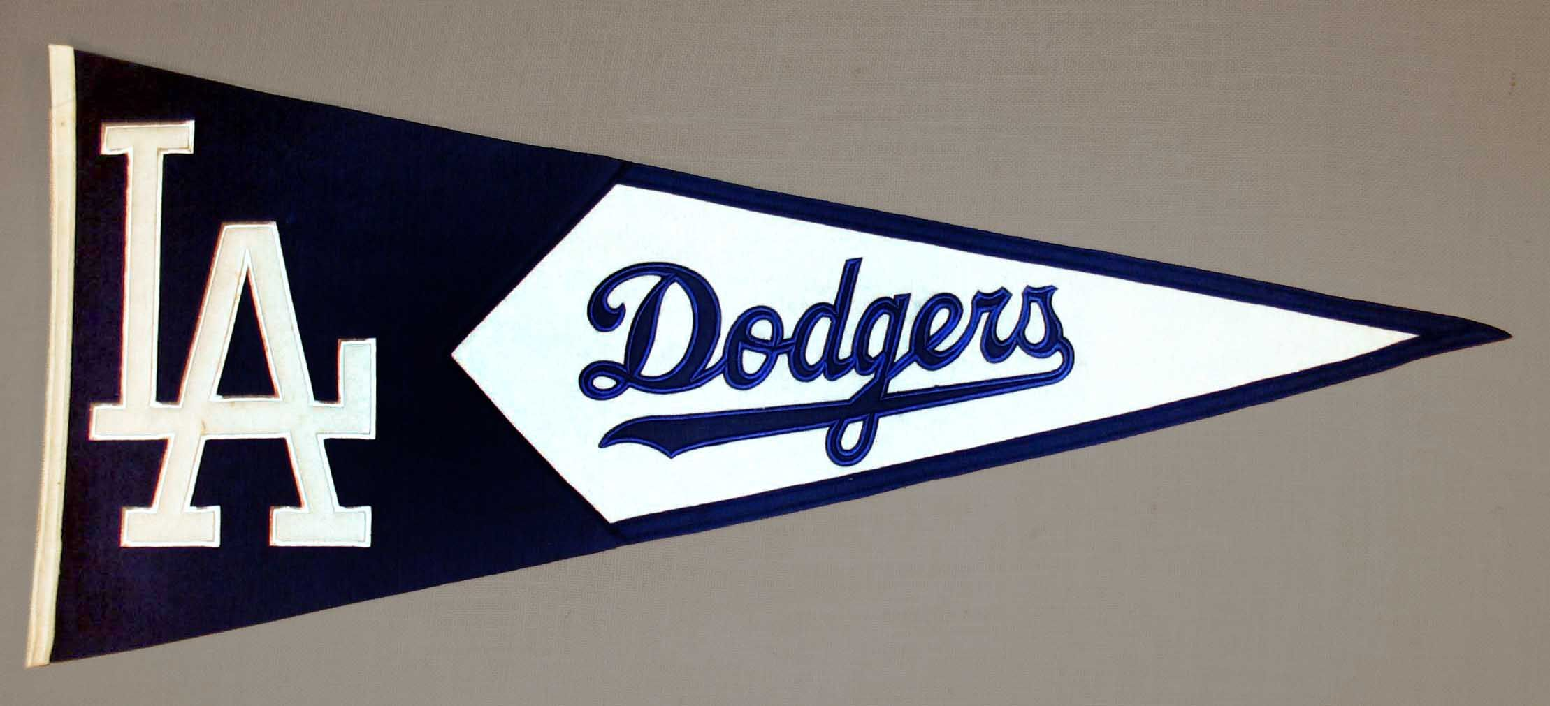 Los Angeles Dodgers Logo Flag Wallpapers Hd Dodgers Baseball Pennants Los Angeles Dodgers Logo