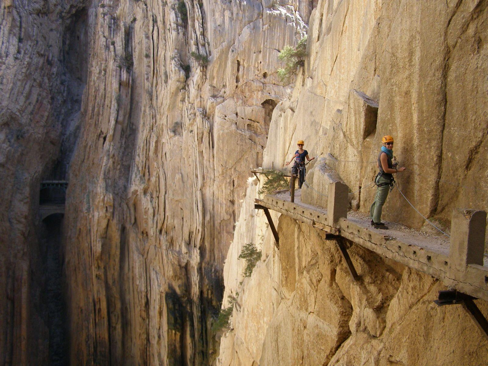 Klettersteig Caminito Del Rey : El caminito del rey @ malaga spain places i must go!! pinterest
