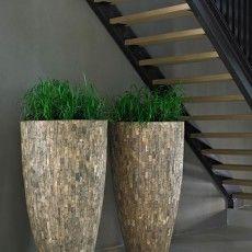 houten vazen