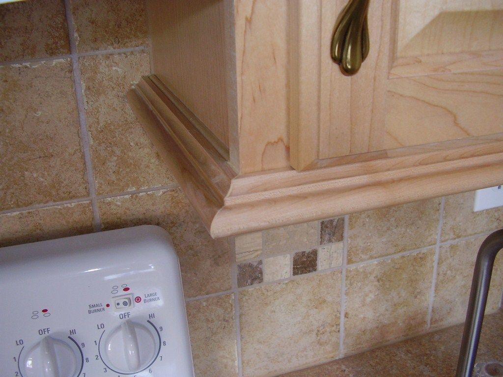 Under Cabinet Trim Moulding  Kitchen in 2019  Kitchen