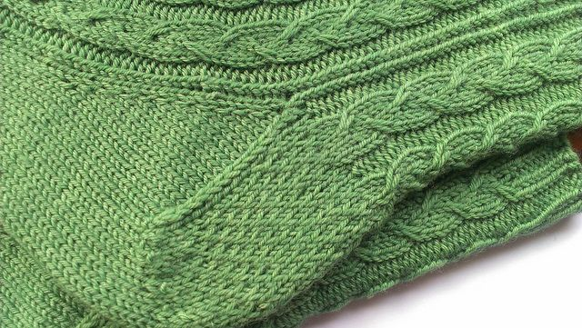 Green Gable sock pattern by Louise Tilbrook is now available in a top-down version!  Purchase pattern.