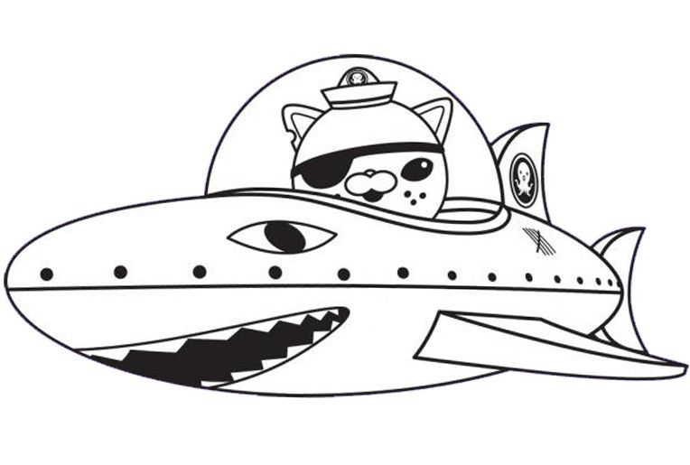 Coloring Page The Octonauts 9 Coloring Pages For Kids Coloring Pages To Print Online Coloring Pages